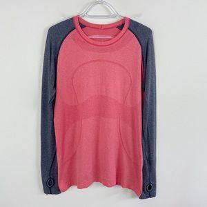 Lululemon Swiftly Tech Shirt Love Red/ Deep Coral